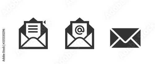 mail icon . web icon set .vector illustration Fototapeta