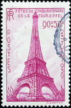 Old French Stamp Celebrating F...