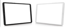 Set Of Black And White Tablet ...