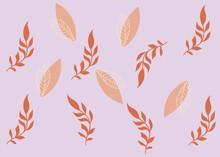 Seamless Pattern Floral Illustration