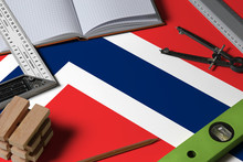 Norway National Flag On Profes...