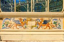 Decorative Azulejo Tile Work A...
