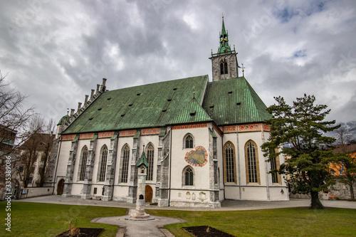 Pfarrkirche Assumption of Mary  Catholic church in Schwaz Wallpaper Mural