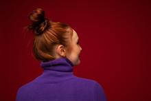 Portrait Of Redhead Teenage Gi...
