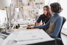 Female Designers Working In Cr...