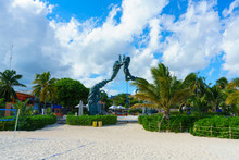Playa Del Carmen Beach And Park, Mexico