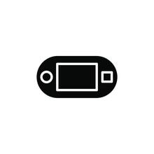 Psp Console Icon , Joy Stick T...