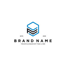 Letters F And Nine Logo Design Vector