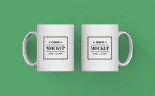 Realistic Mug Mockup, PSD File Included, Place Your Design Via Smart Object, Easy To Change Colour