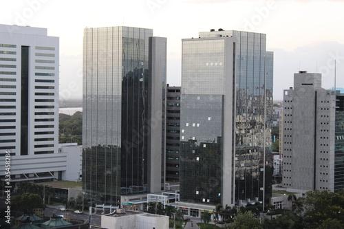 Fototapety, obrazy: Dual towers