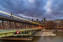 The Pont De Bir-Hakeim Formerly The Pont De Passy