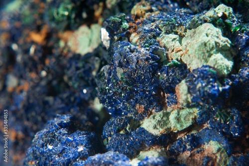 Photo A azurite