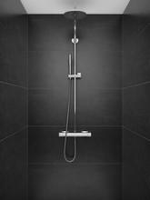 SHower In Modern Shower Room, ...