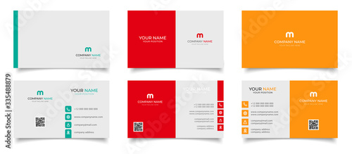 creative modern name card and business card Slika na platnu