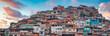 Leinwandbild Motiv Rio de Janeiro downtown and favela