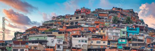 Photo Rio de Janeiro downtown and favela