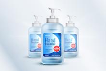 Hand Sanitizer Bottle Containe...