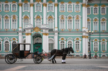 Horse Drawn Carriage Russia