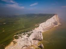 Aerial View Of  Seaford Head A...