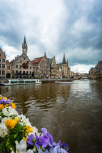 Gent, Belgium. View From The C...