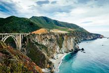Brixby Bridge And Great Ocean Road, California, USA