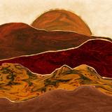Abstarct Land Wall Art - 335590269