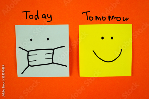 Tomorrow wiil be better Canvas Print
