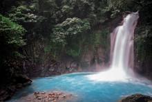 Catarata Del Rio Celeste, Tenorio National Park, Costa Rica, Central America