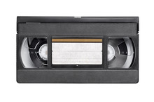 VHS Video Tape Cassette Isolat...