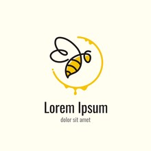 Honey Bee Line Logo