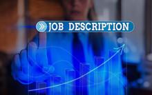 Text Sign Showing Job Descript...