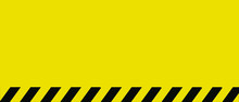 Yellow Caution Warning Sign Em...