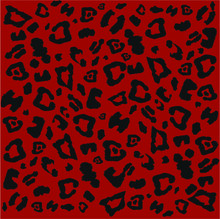 Leopard Pattern Design, Vector...