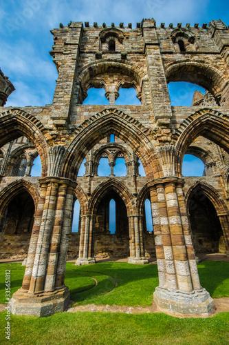 Photo Bram Stokers Whitby Abbey England UK