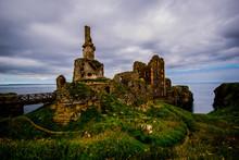 Castle Sinclair Scotland Ruin UK