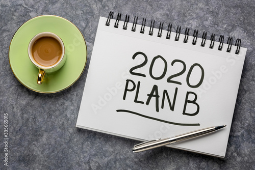 Photo 2020 plan B - change of business and personal plans