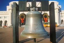 Replica Of Liberty Bell, Christmastime, Union Station, Washington, D.C.