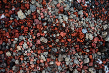 The Hardened Lava Rocks In Iceland Placed Near Volcano