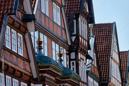 Valokuva Half-timbered houses in the old town of Celle, Germany
