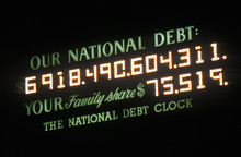 USA National Debt And National...