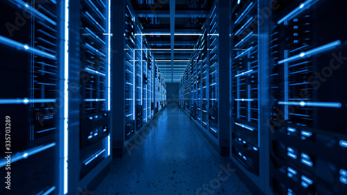 Fotografia data center