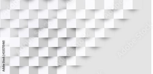 Fototapeta 立体 幾何学 模様 背景 obraz