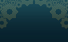 Islamic Background Design For Ramadan Kareem