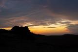 Fototapeta Na ścianę - sunset over the mountains mui ne vietnam asia