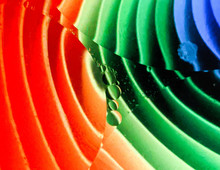 Colorful Oil In Water Abstract Photographs