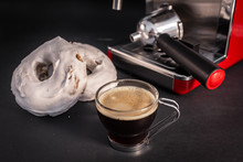 Desayuno De Café Con Rosco Blanco