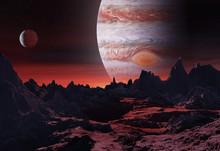 3D Illustration Of Big Planet