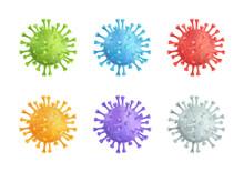 Coronavirus Covid-19 Vector 3d...