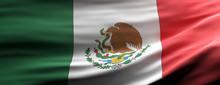 Mexico National Flag Waving Te...