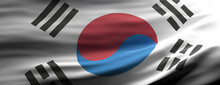 San South Korea National Flag ...